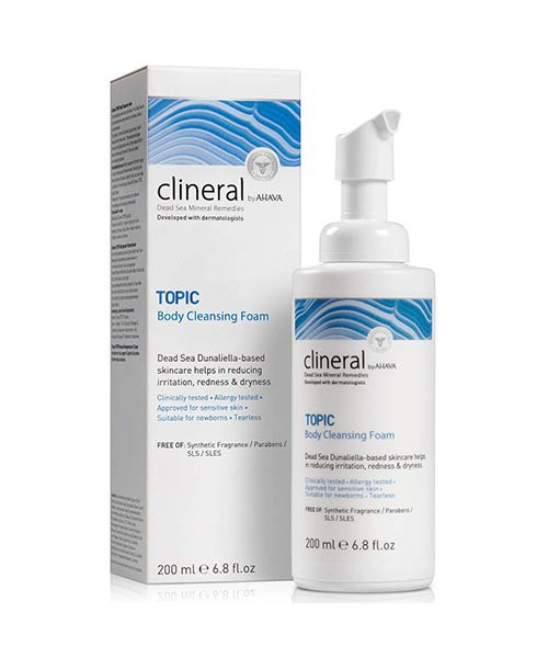 TOPIC Body Cleansing Foam Clineral