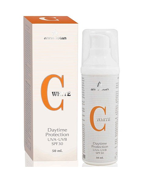 Daytime UVA-UVB SPF-30 Protection | C White