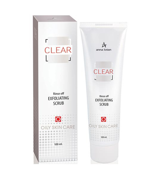 Rinse off Exfoliating Scrub Clear