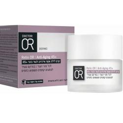 كريم ليلي مضاد للشيخوخة للبشرة الناضجة 45+ - Anti-aging night cream for mature skin 45+