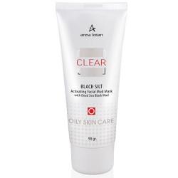 أسود الطمي تفعيل قناع الوجه الطين واضح - Black Silt Activating Facial Mud Mask Clear