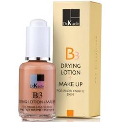 غسول التجفيف + تعويض عن البشرة الإشكالية B3 - Drying Lotion + Make Up For Problematic Skin | B3