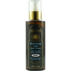 المغربي زيت أركان الشعر المصل مع المستخلصات النباتية الطبيعية - Moroccan Argan Oil Hair Serum With Natural Plant Extracts