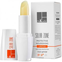 أحمر شفاه مغذي وقائي بعامل حماية من الشمس 50+ | المنطقة الشمسية - Protective Nourishing Lipstick SPF 50+ | Solar Zone