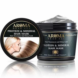 بروتين والمعادن المعدنية تجانس قناع - Protein And Mineral Smoothing Hair Mask