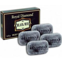 الملكي الماس الطين الصابون عدة (4 حزم) - Royal Diamond Mud Soap Kit (4 packs)