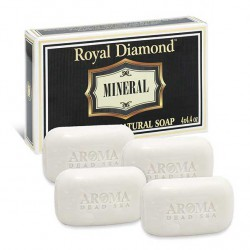 الملكي الماس المعدنية الصابون كيت (4 حزم) - Royal Diamond Mineral Soap kit (4 packs)