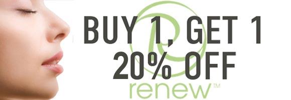 Renew Cosmetics sale