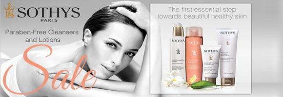 Sothys Paris Cosmetics sale